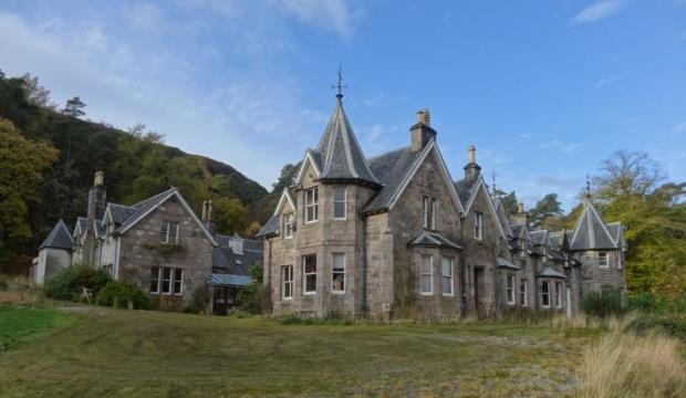 15 bedroom detached house for sale in lochmore lodge for 15 bedroom house for sale