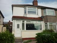 2 bedroom semi detached property in WOOD LANE, Liverpool, L36