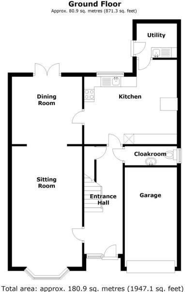 1 Willow Avenue, Ranskill, Retford - Floor 0.jpg