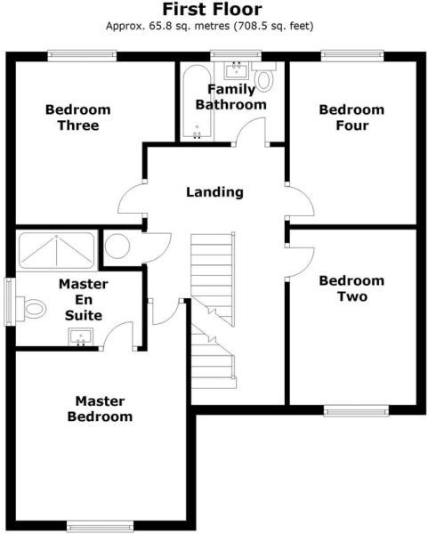 1 Willow Avenue, Ranskill, Retford - Floor 1.jpg