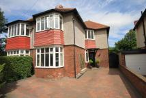 semi detached home in Seaton Crescent...