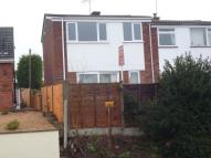 3 bedroom semi detached home in Chesshire Close...