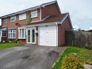 semi detached house in Bach Mill Drive...