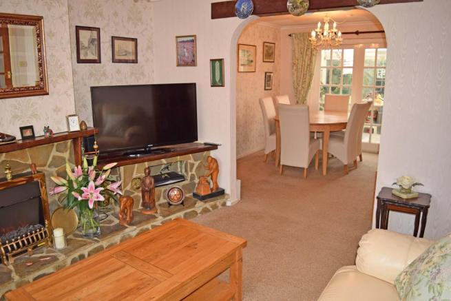 Sitting Room to Dining room