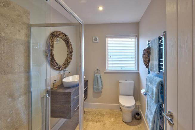 Show Home: Downstairs shower room
