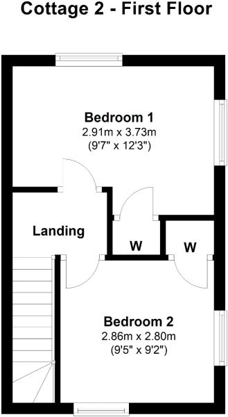 Cottage 2 - First Floor