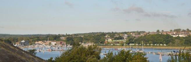 View to Bembridge Harbour