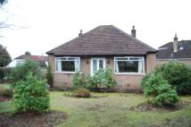 Bungalow in Ravelston Road, Bearsden...