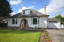Detached Bungalow in Thomson Drive, Bearsden...
