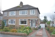 3 bed semi detached home for sale in Blane Drive, Milngavie...