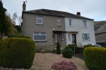 semi detached house for sale in Glebe Crescent, Alva...