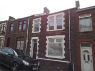 Terraced house in Caradog Street...