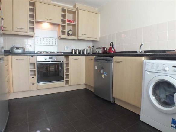 LARGE KITCHEN WITH A