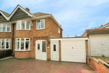3 bed semi detached home in Dulverton Road...