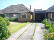 Semi-Detached Bungalow in Andrew Road, Anstey, LE7