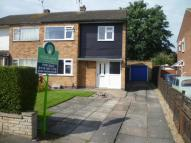 semi detached house in Blenheim Road, Birstall...