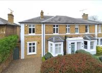 semi detached house in Manor Road, East Molesey...