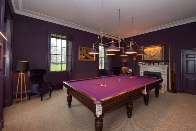 York: Billiard Room