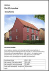 4 bed new property in Barley Meadows...