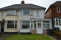 semi detached property for sale in Gleneagles Road, Sheldon...