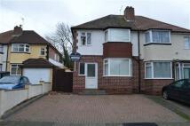 3 bedroom semi detached property in Allerton Road, Yardley...