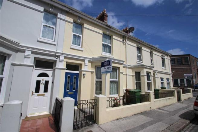 3 bedroom terraced house for sale in cattedown road 3 bedroom houses for sale in plymouth