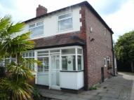 3 bedroom semi detached home in Kildare Road, Chorlton...