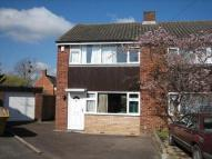 3 bed semi detached property to rent in Ridgemont Close...