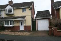 3 bedroom semi detached property in Talgarreg Drive...