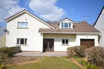 Detached home for sale in Eryri, Clarach Road...