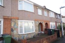 Terraced property in Eric Road...