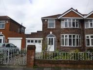 semi detached home for sale in Norwich Road, Stretford...