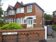 3 bedroom semi detached property to rent in Haig Road, Manchester
