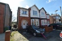 semi detached home to rent in Barlow Road, Stretford...