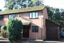2 bedroom semi detached home in Woodpecker Close, Bordon