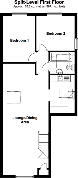Split-Level First Floor