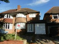 3 bedroom semi detached property for sale in Dene Hollow, Kings Heath...