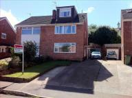 semi detached home in Shelley Close, Exeter