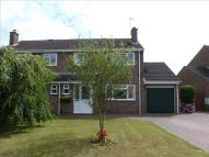 semi detached house for sale in Cedar Close, Irchester...