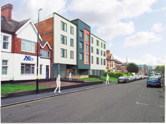 1 bedroom apartment for sale in Queens Road Coventry CV1