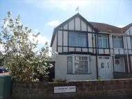 3 bedroom semi detached house in Claremont Road...