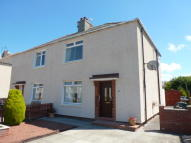 semi detached property in Weston Avenue, Annbank...