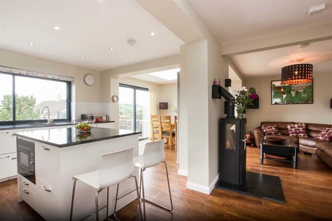 Open Plan Kitchen/family Room
