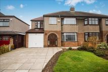 4 bedroom semi detached property for sale in Brookside Crescent...