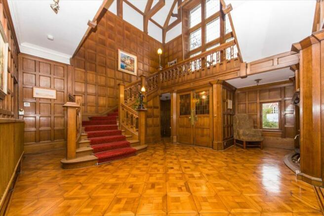 Magnificent Reception Hallway