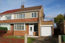 semi detached property in Birkdale Road, Hartburn...