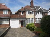 semi detached home for sale in Cliveden Avenue...