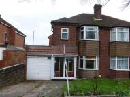 3 bed semi detached property in Shady Lane, Great Barr...
