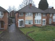 semi detached property in Lodge Hill Road...
