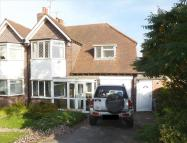 3 bed semi detached house in Gillhurst Road, Harborne...
